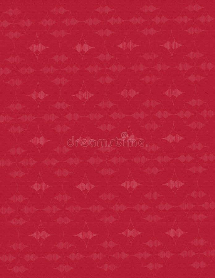 Rode Geweven Achtergrond Stock Afbeeldingen