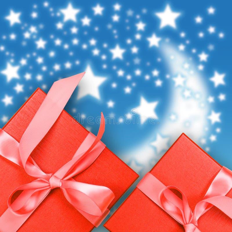Download Rode giftdoos stock foto. Afbeelding bestaande uit kleur - 39117622