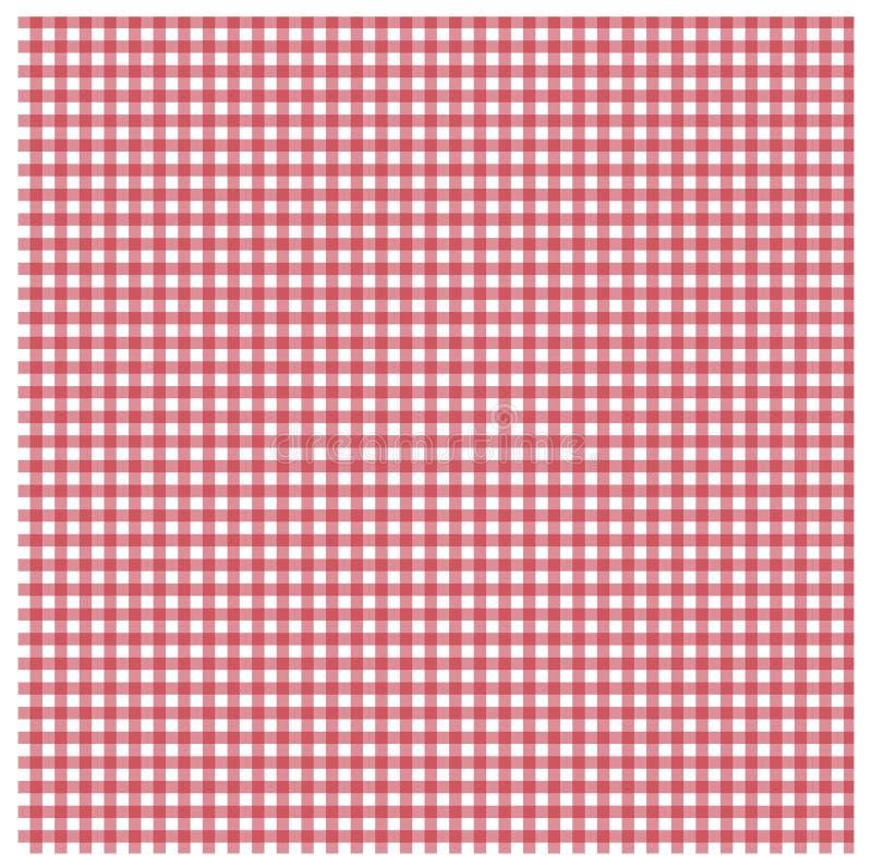 Rode gingang royalty-vrije illustratie