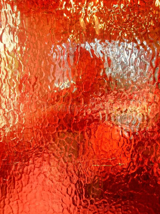 Rode glastexturen royalty-vrije stock fotografie