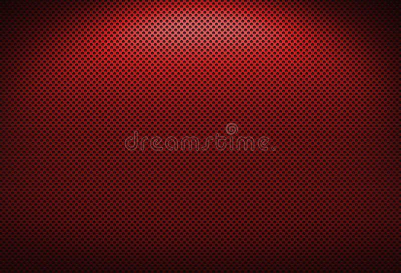 Rode Grating van het Metaal royalty-vrije stock fotografie