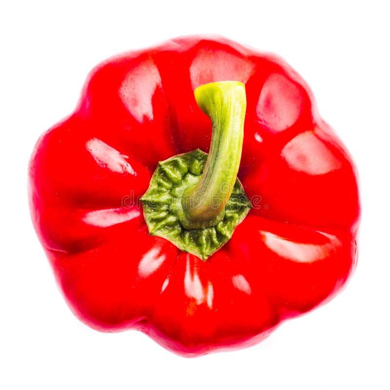 Rode Groene paprika royalty-vrije stock afbeelding