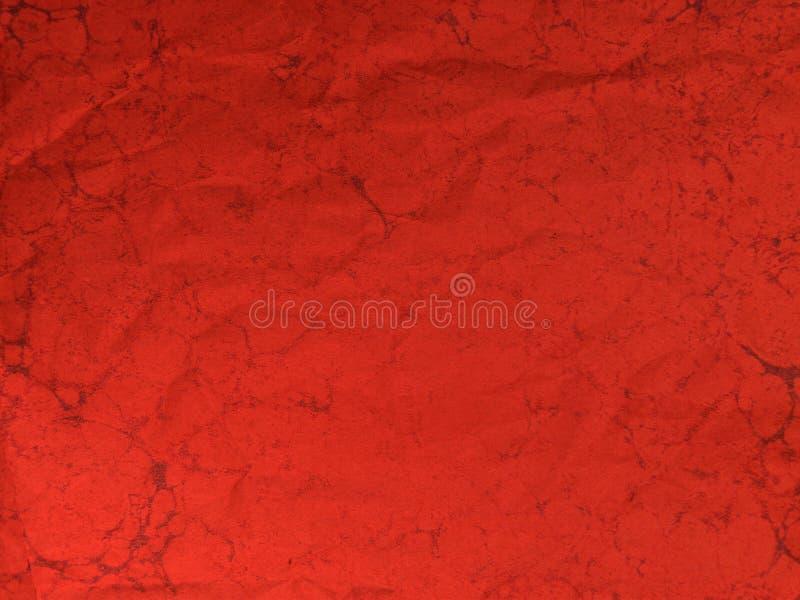 Rode grungetextuur stock illustratie