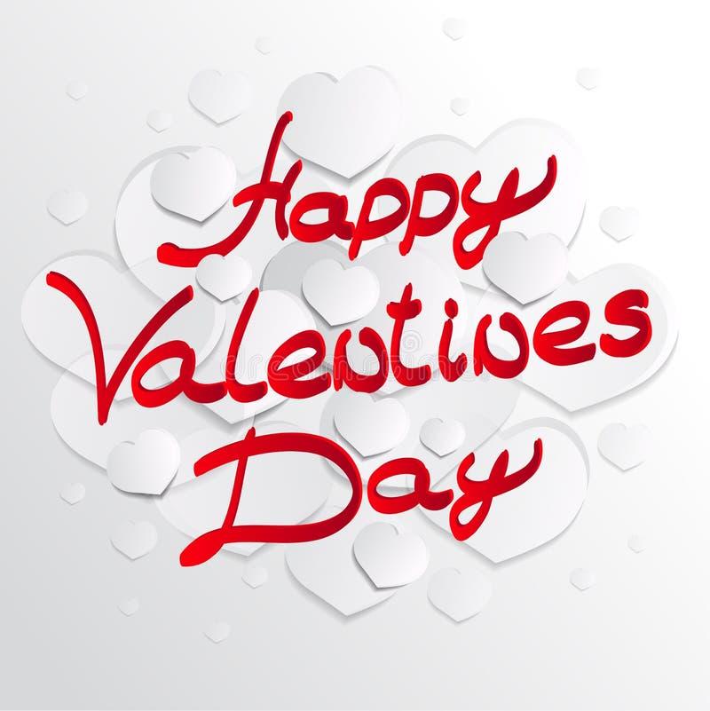 Rode harten Rood hart De vorm van het hart De achtergrond van het hart Hart T stock illustratie