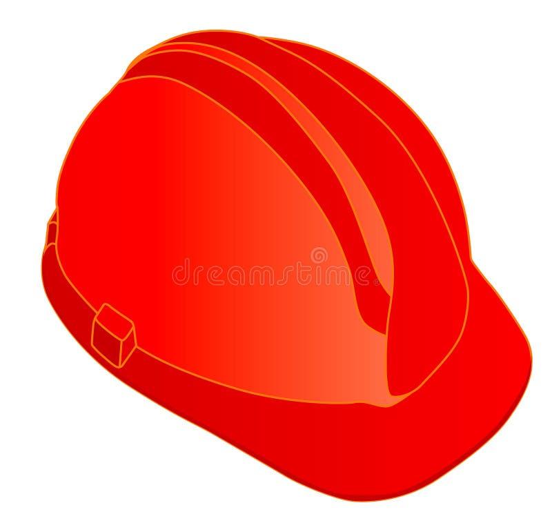 Rode Helm vector illustratie