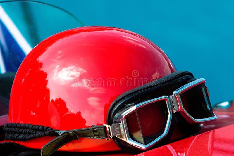 Rode helm royalty-vrije stock foto's