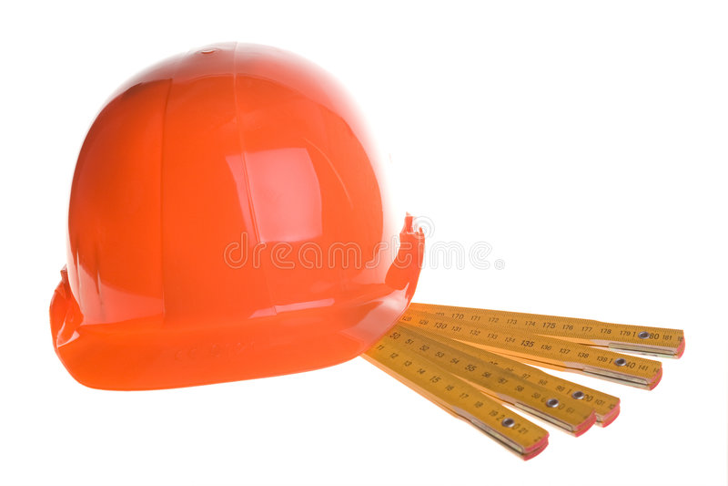 Rode helm en heersers stock afbeeldingen