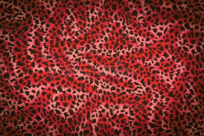 Rode het bonttextuur van de tijger royalty-vrije stock fotografie
