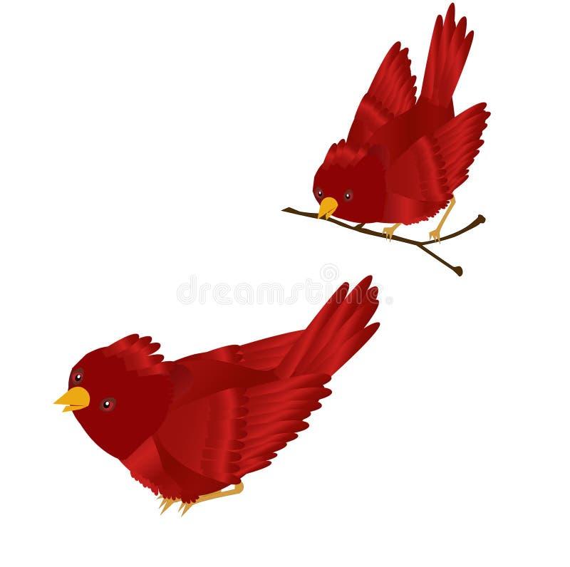 Rode HoofdClipart royalty-vrije illustratie