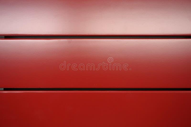 Rode houten lat royalty-vrije stock foto's