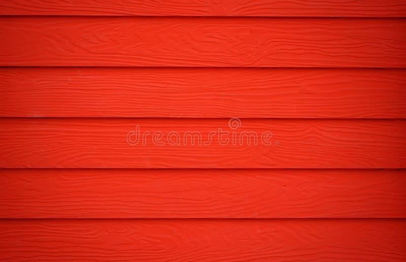 Rode houten Textuur stock fotografie