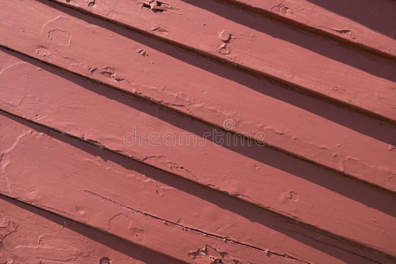 Rode houten textuur stock afbeelding