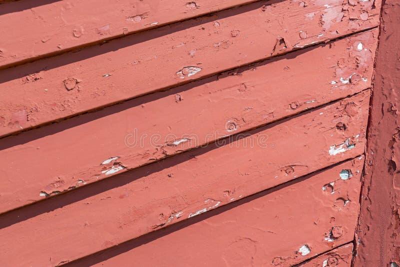 Rode houten textuur royalty-vrije stock fotografie