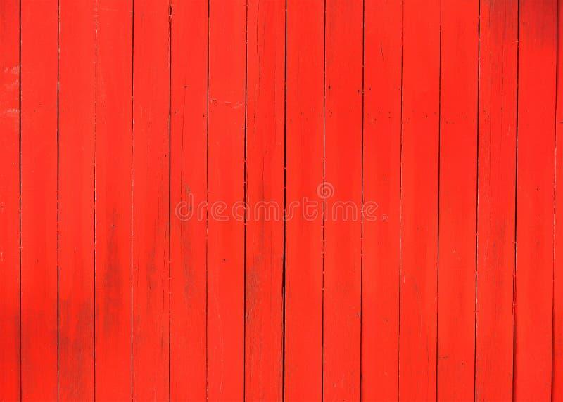 Rode houten textuurachtergrond stock afbeeldingen