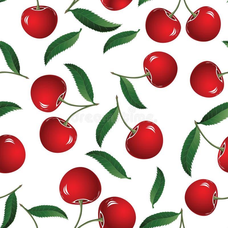 Rode kers vector illustratie