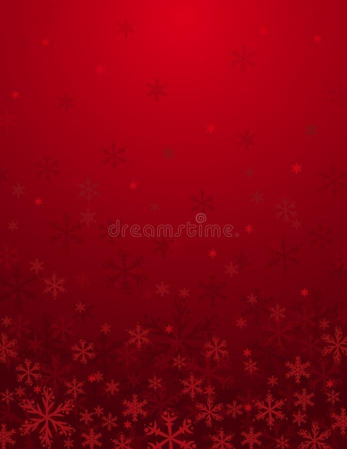 Rode Kerstmisachtergrond,   royalty-vrije stock foto