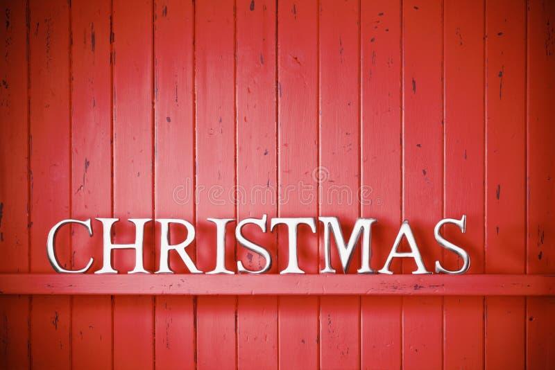 Rode Kerstmisachtergrond