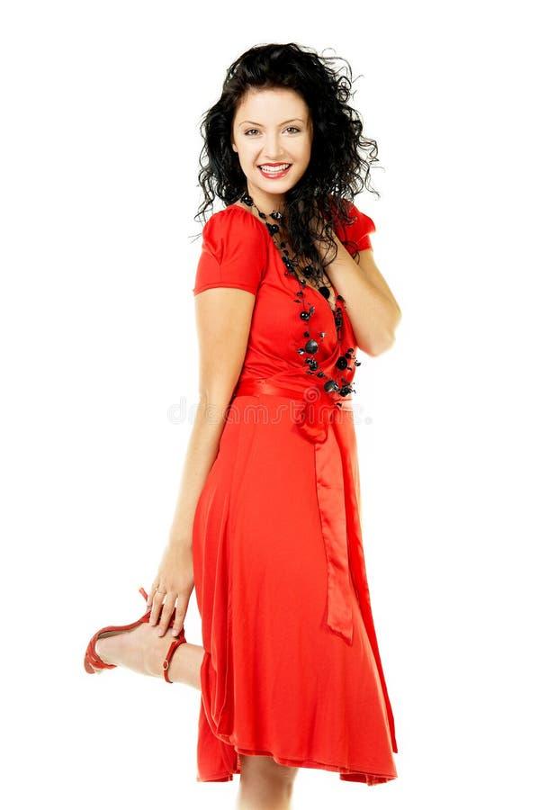 Rode kleding stock foto's