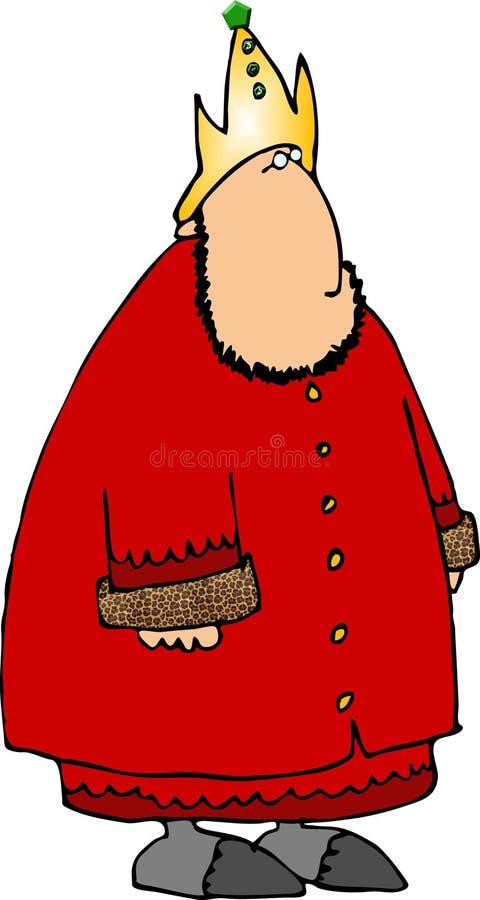 Download Rode Koning stock illustratie. Illustratie bestaande uit koning - 292060