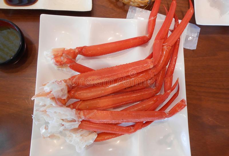 Rode Koning Crab stock afbeelding