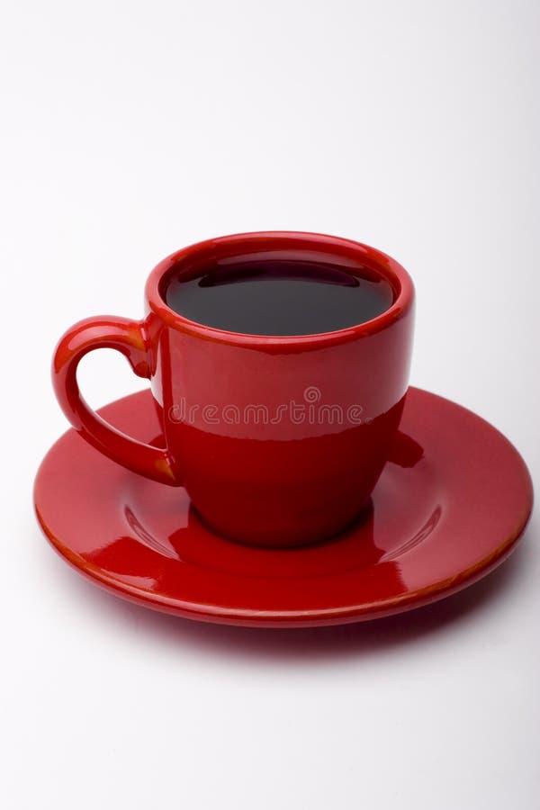 Rode Kop Coffe royalty-vrije stock afbeeldingen