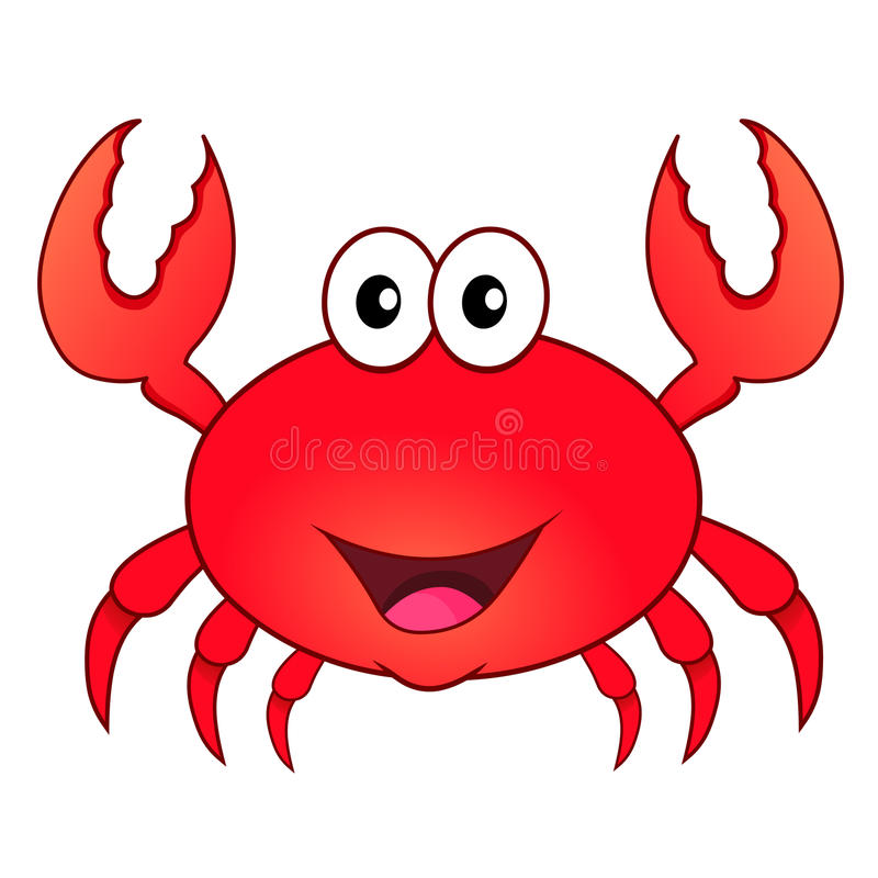 Rode Krab royalty-vrije illustratie