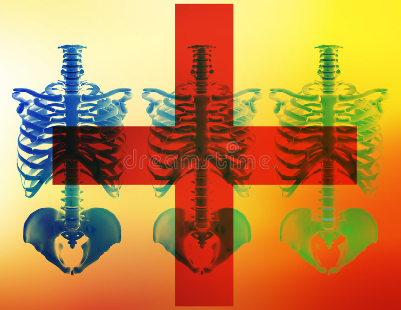 Rode Kruis stock illustratie
