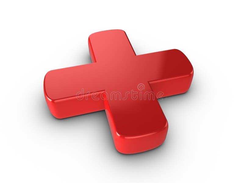 Rode Kruis royalty-vrije illustratie
