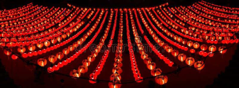 Rode lantaarns royalty-vrije stock fotografie