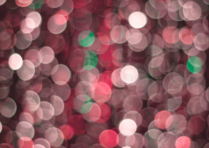 Rode lichten bokeh achtergrond royalty-vrije stock foto's