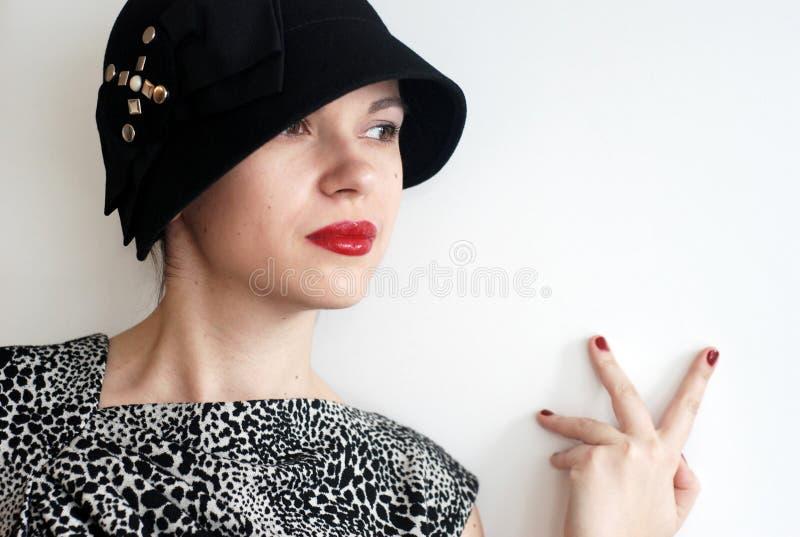 Rode lippenstift stock afbeeldingen