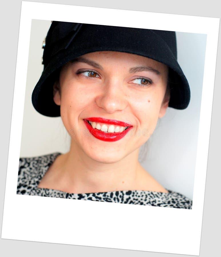 Rode lippenstift royalty-vrije stock foto