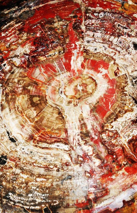 Rode marmeren textuur royalty-vrije stock afbeelding