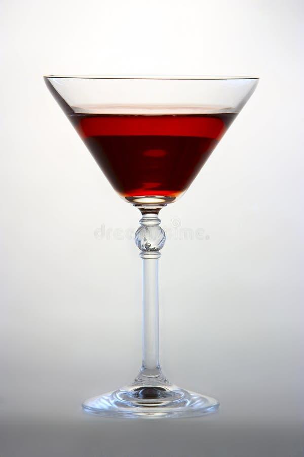 Rode martini stock foto's