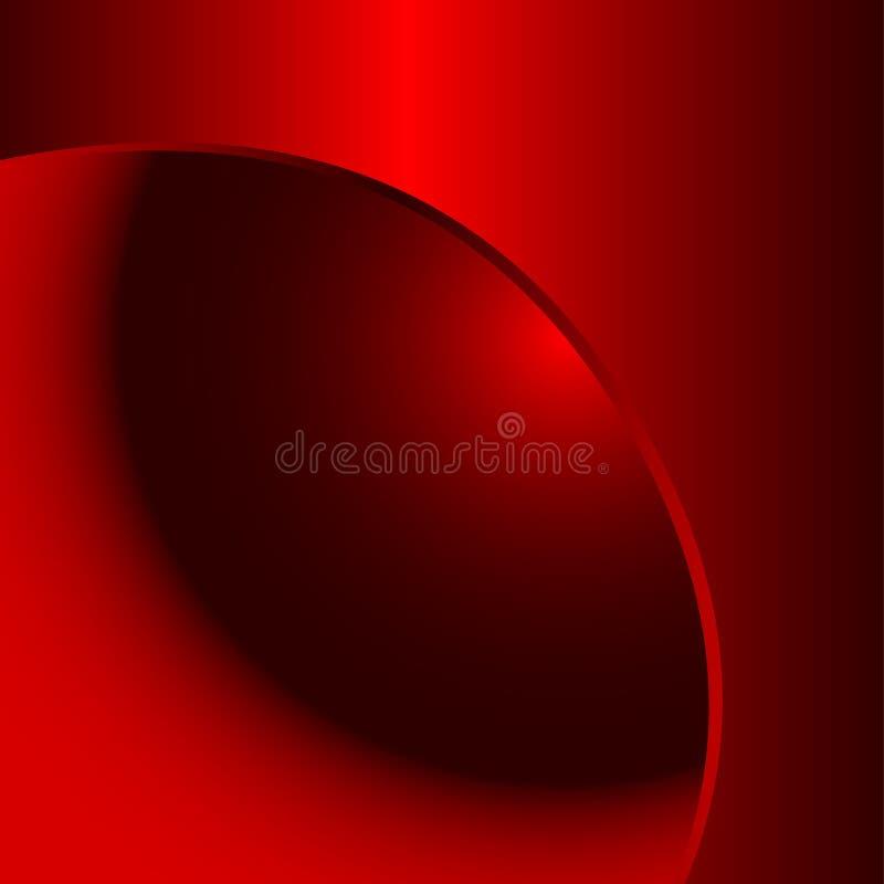 Rode metaalachtergrond stock illustratie