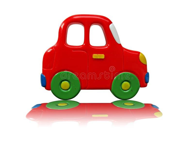 Rode miniauto stock foto
