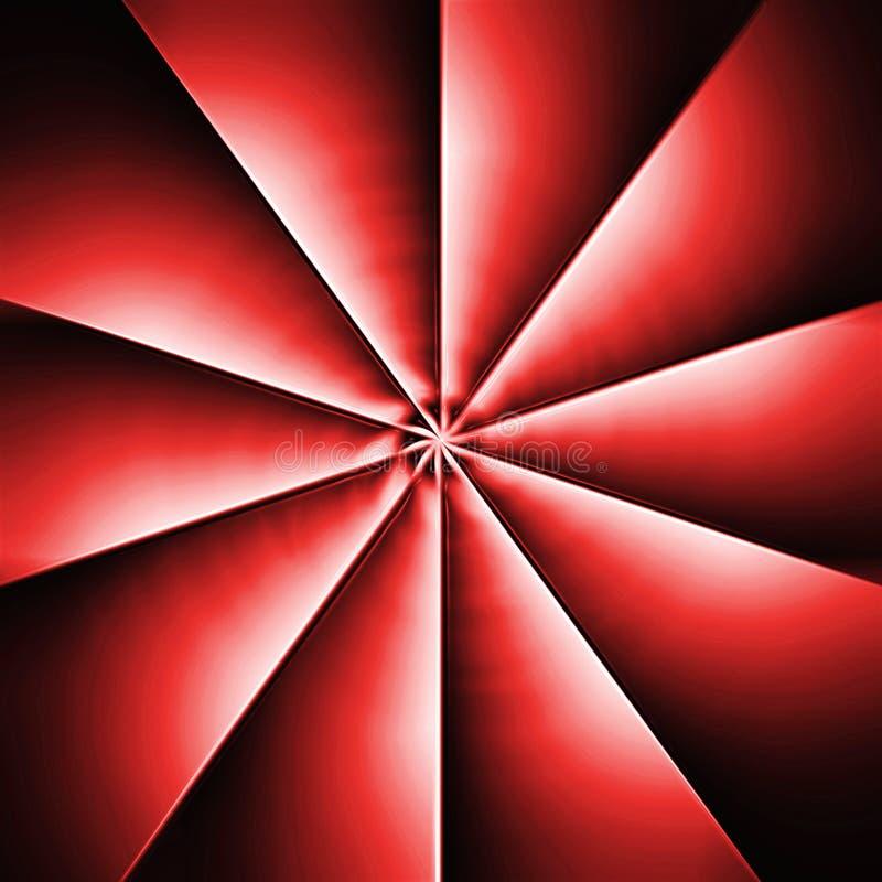 Rode propeller stock illustratie