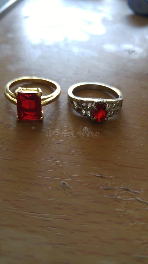 Rode Ringen royalty-vrije stock foto's