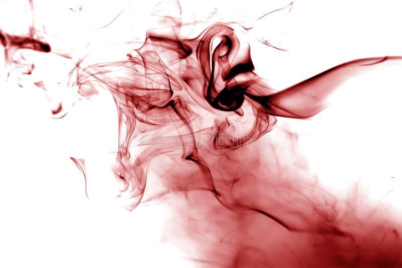 Rode rook stock illustratie