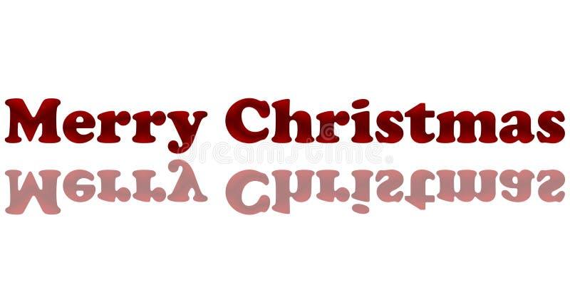 Rode Satijn vrolijke chirstmas stock afbeeldingen