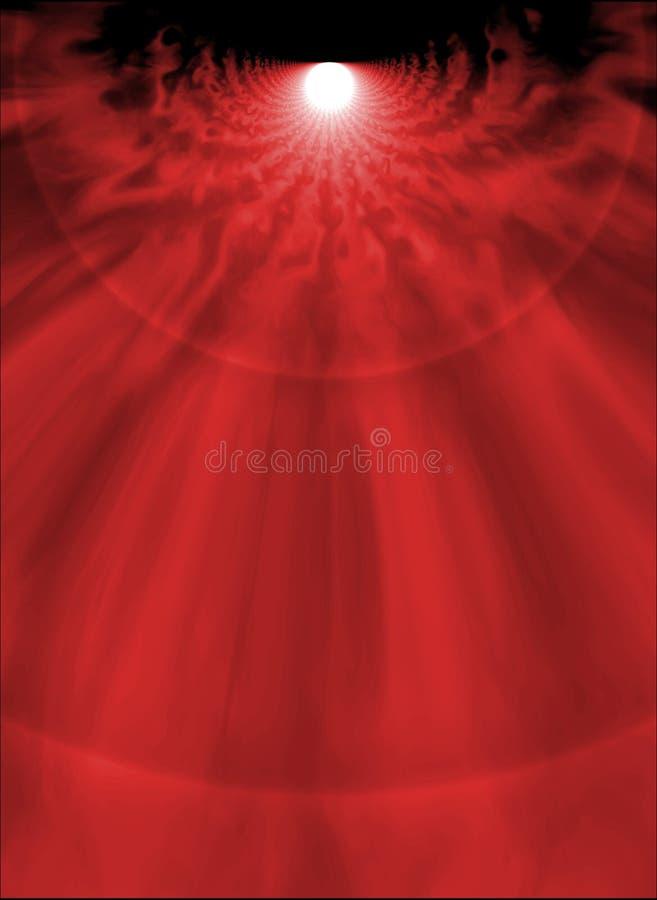 Rode smelting royalty-vrije illustratie