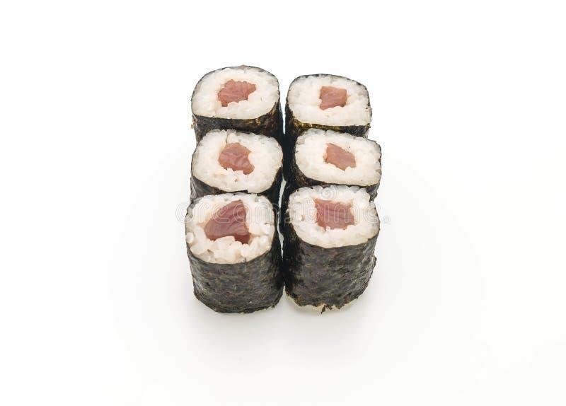 rode snapper Japanse het voedselstijl van makisushi royalty-vrije stock fotografie