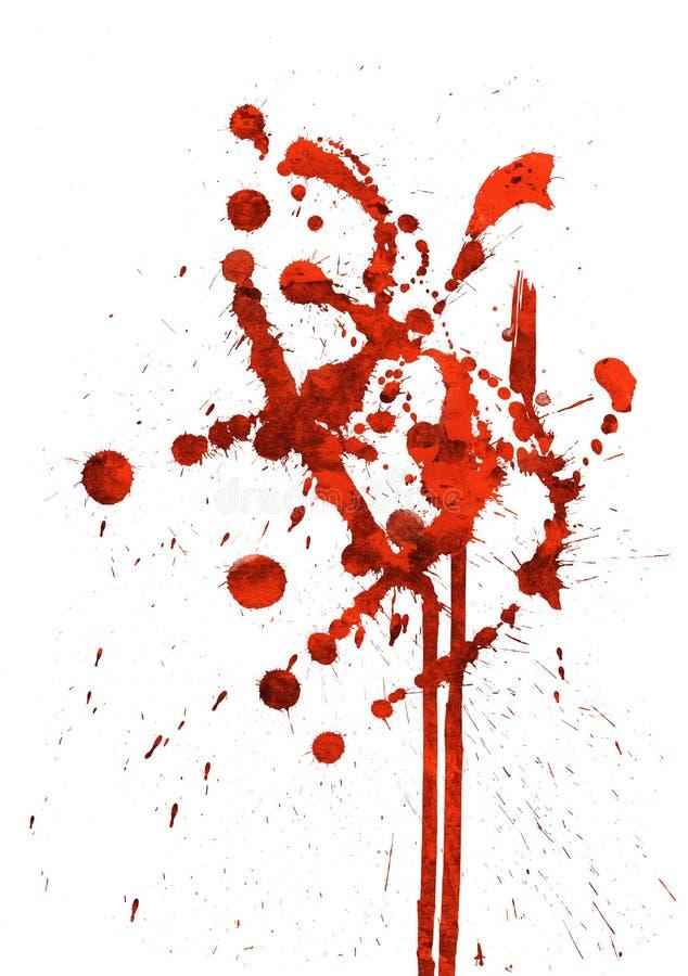 Rode Spat vector illustratie