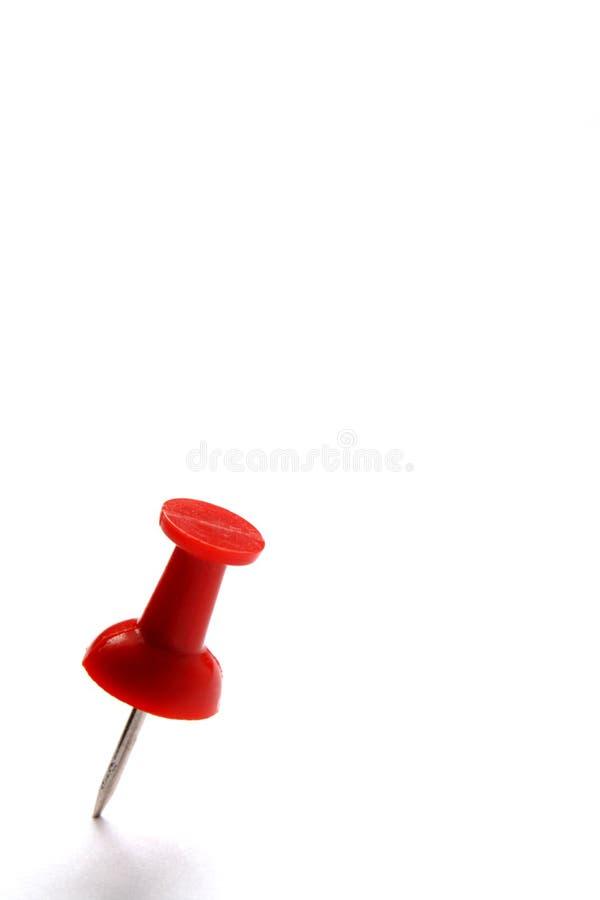Rode speld stock afbeelding