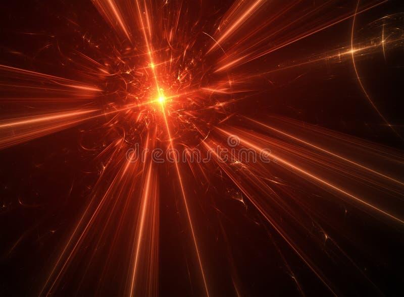 Rode ster vector illustratie