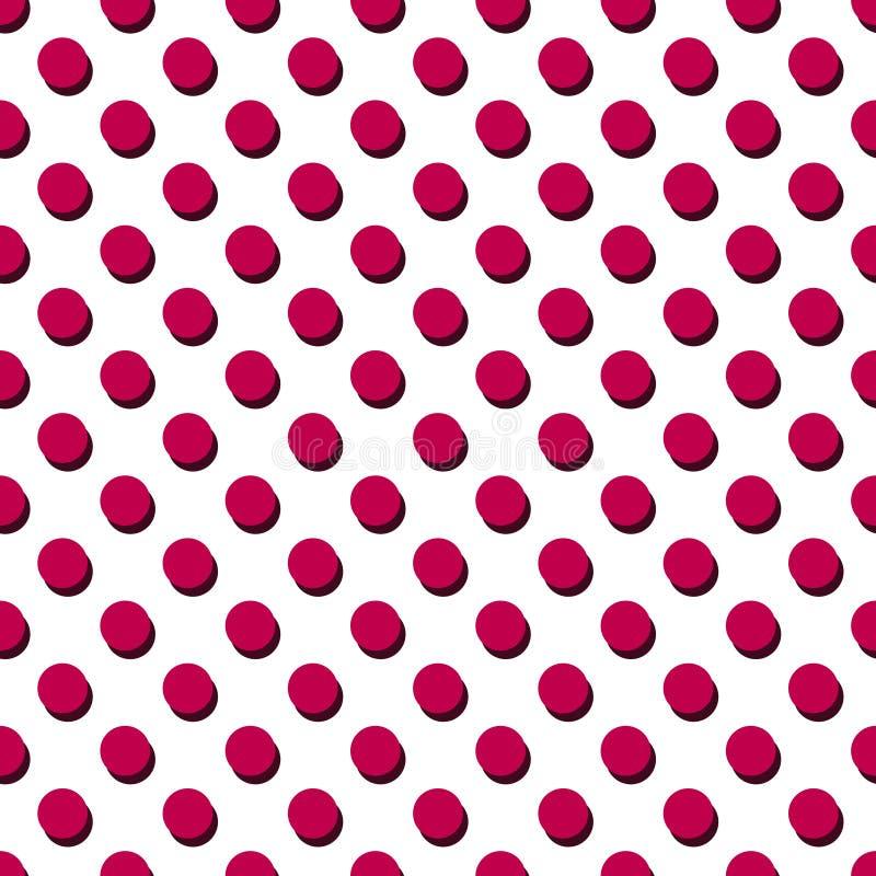 Rode stippen vector illustratie