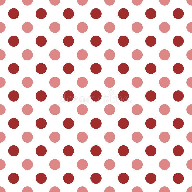 Rode stippen stock illustratie