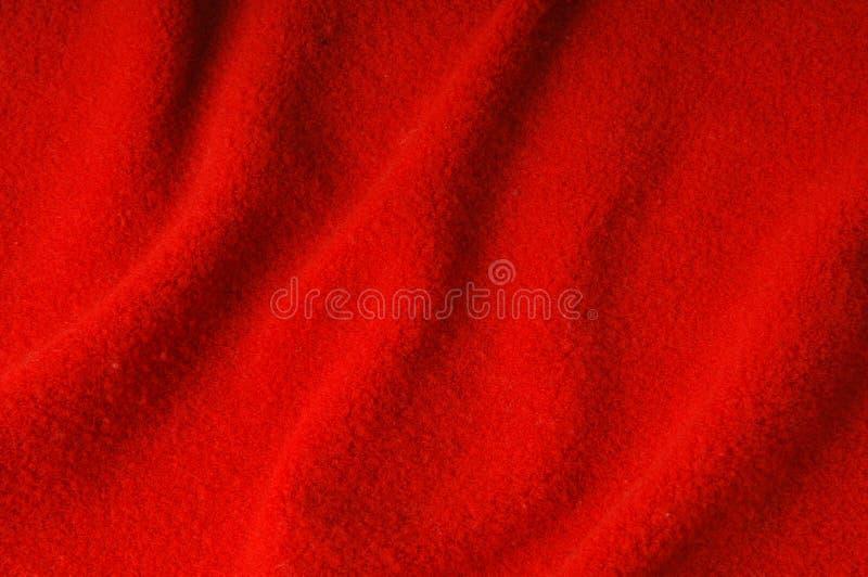 Rode stof als achtergrond royalty-vrije stock foto