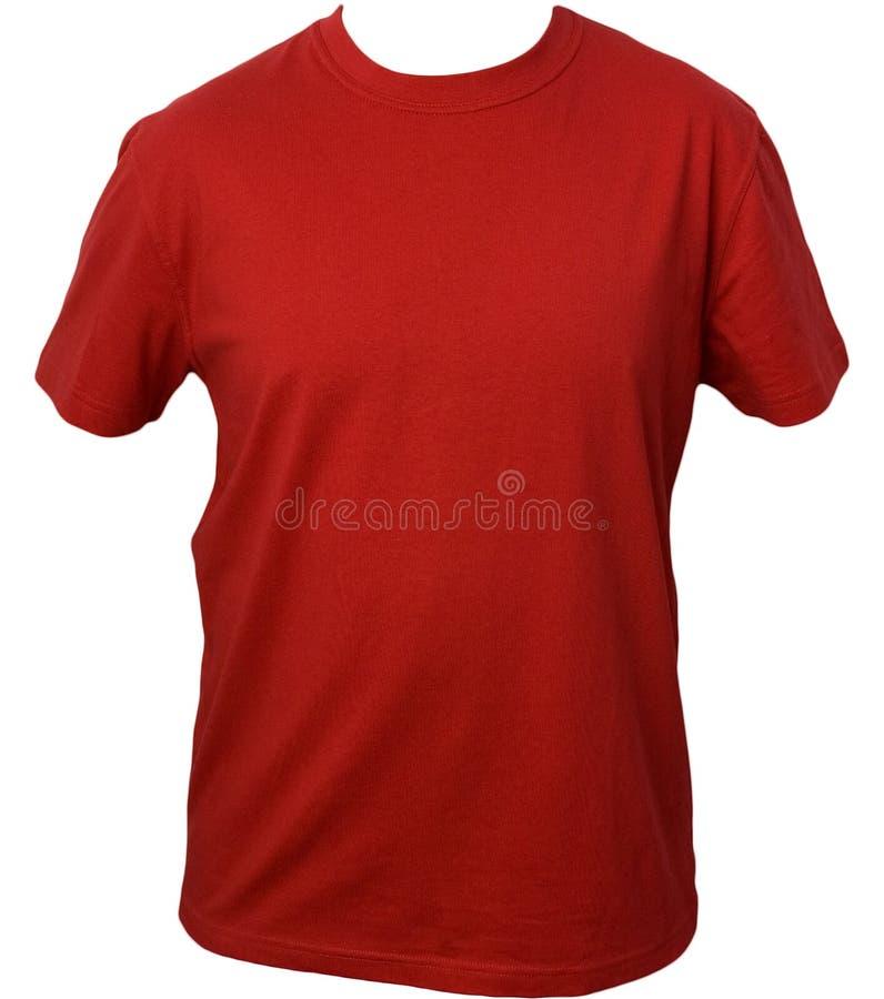 Rode t-shirt stock foto's