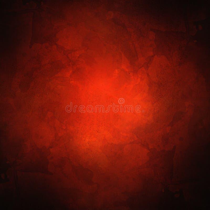 Rode textuur met verdonkerde hoeken stock afbeelding